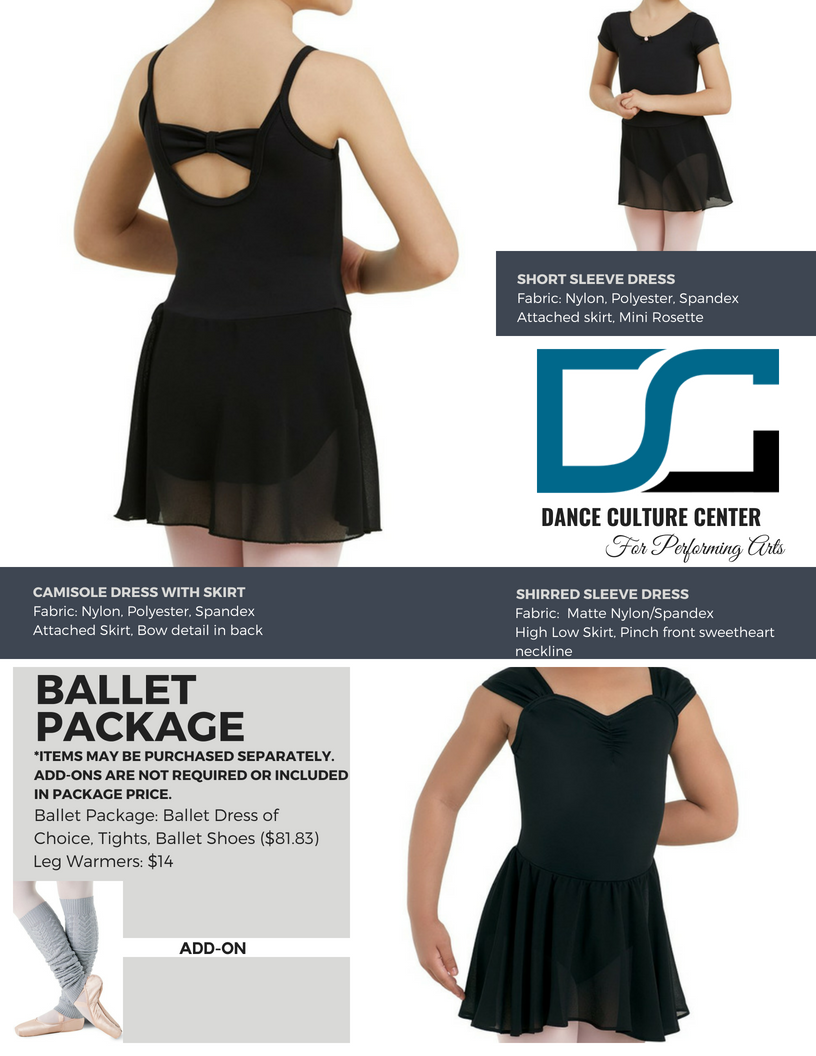 Ballet Package 5-7 Yrs.