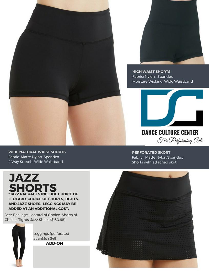 Jazz Shorts 5-7 Yrs.