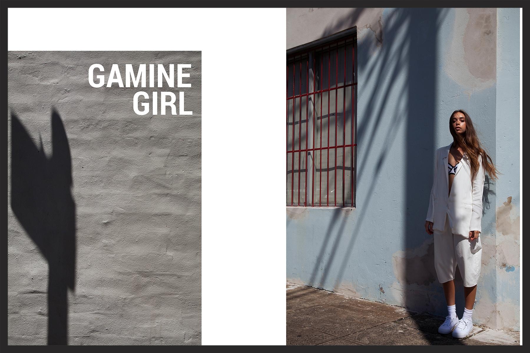 Gamine Girl