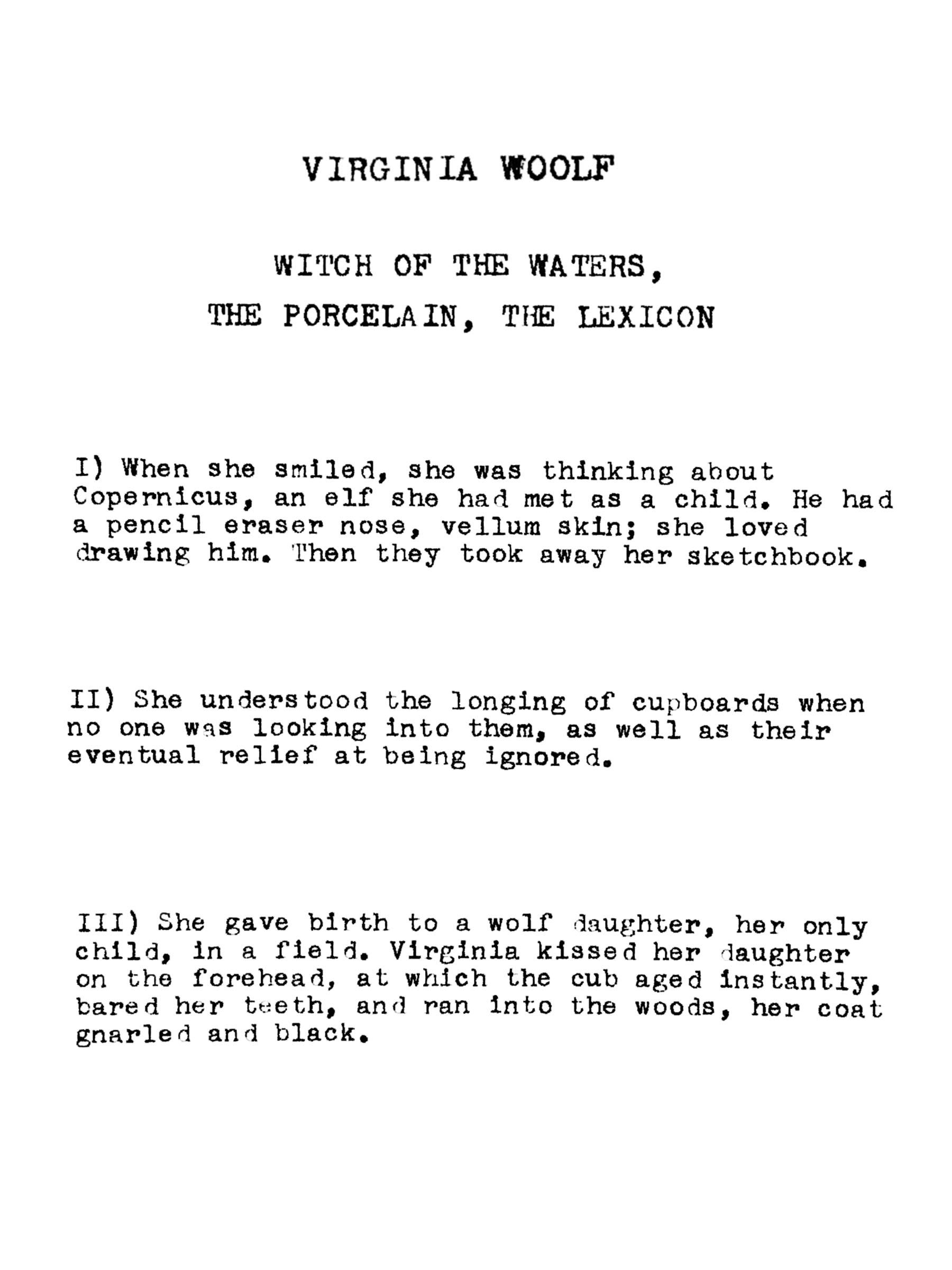 Anne Carson: The High Priestess of the Heath