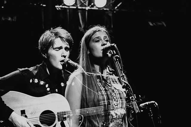 .@kacyandclayton at @ardmoremusichall opening for @colterwall 5/9/19