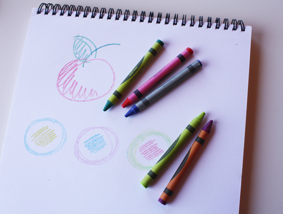 Crayons Drawing