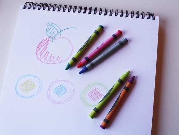 Crayons Drawing