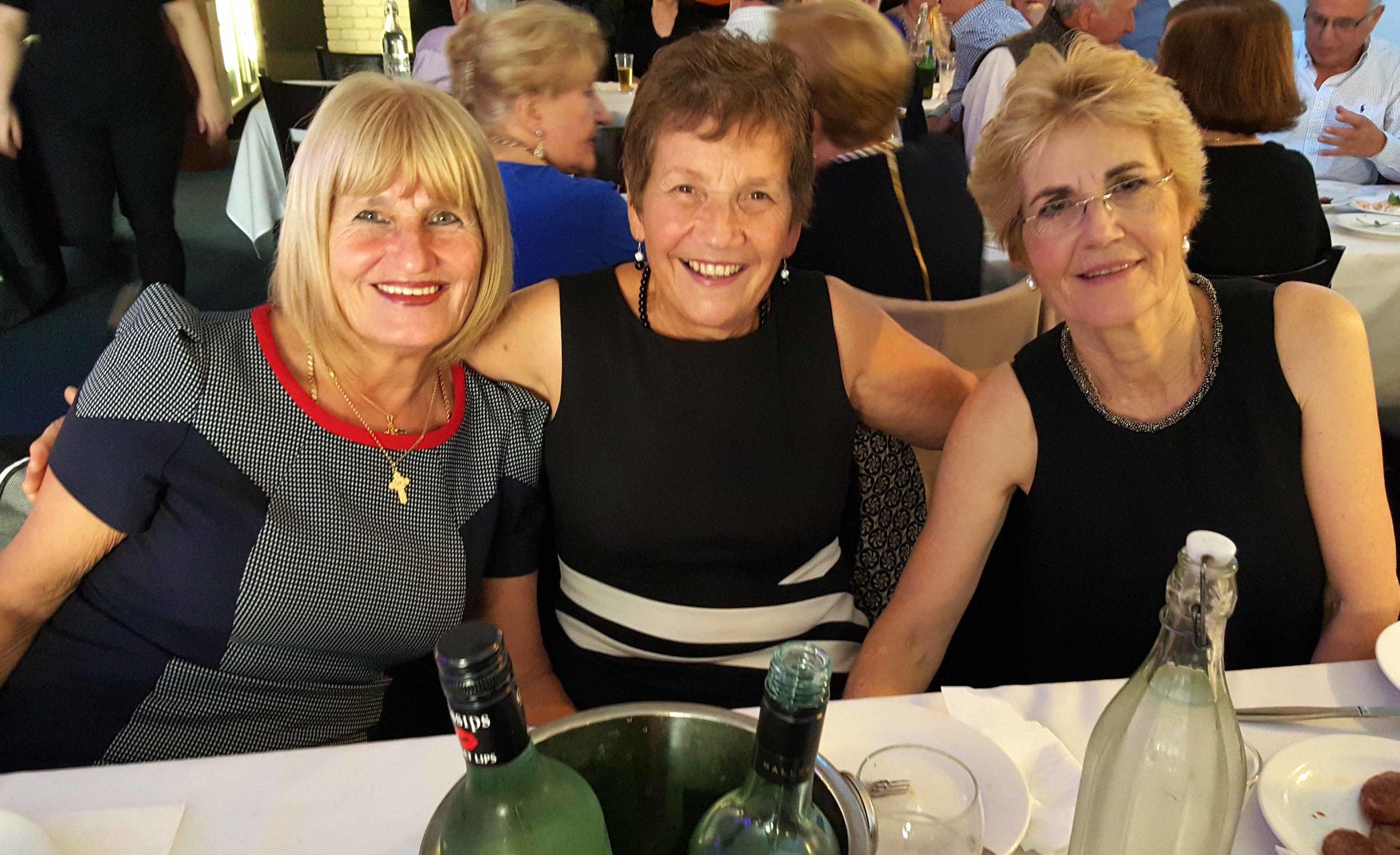 Maria, Helen and Mary