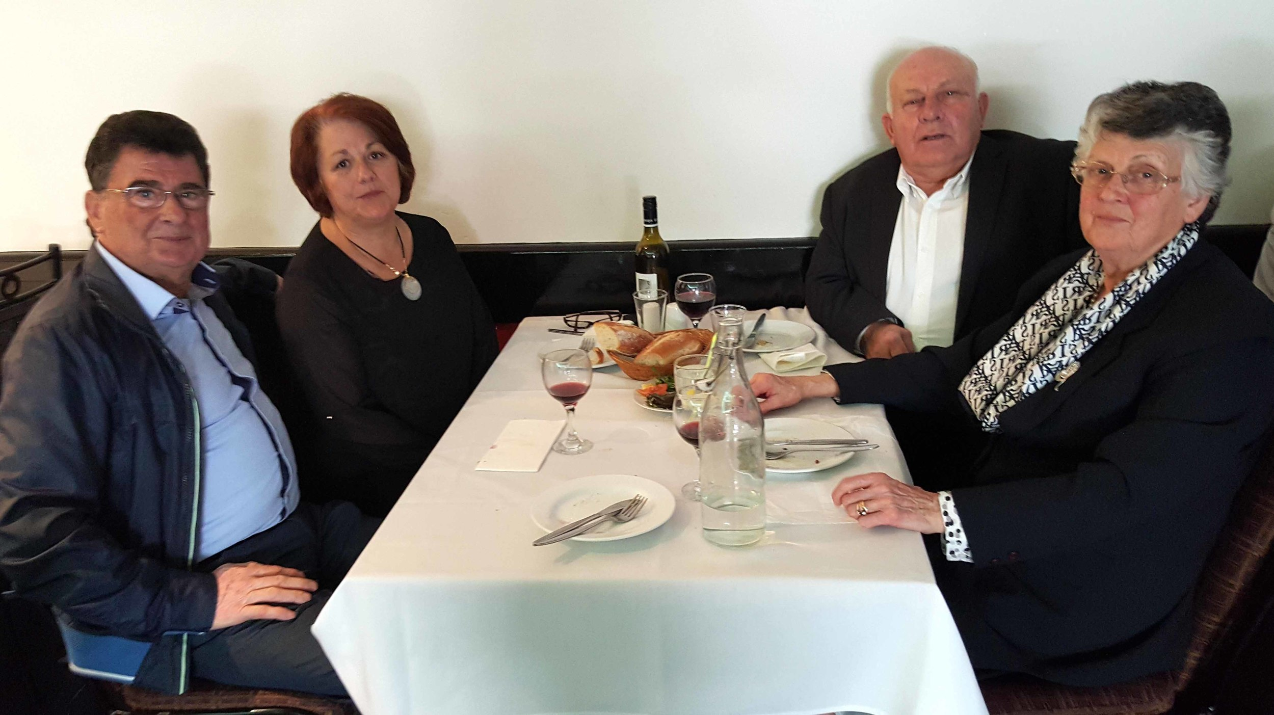 George and Tina Lymperis and John and Mela Limberis