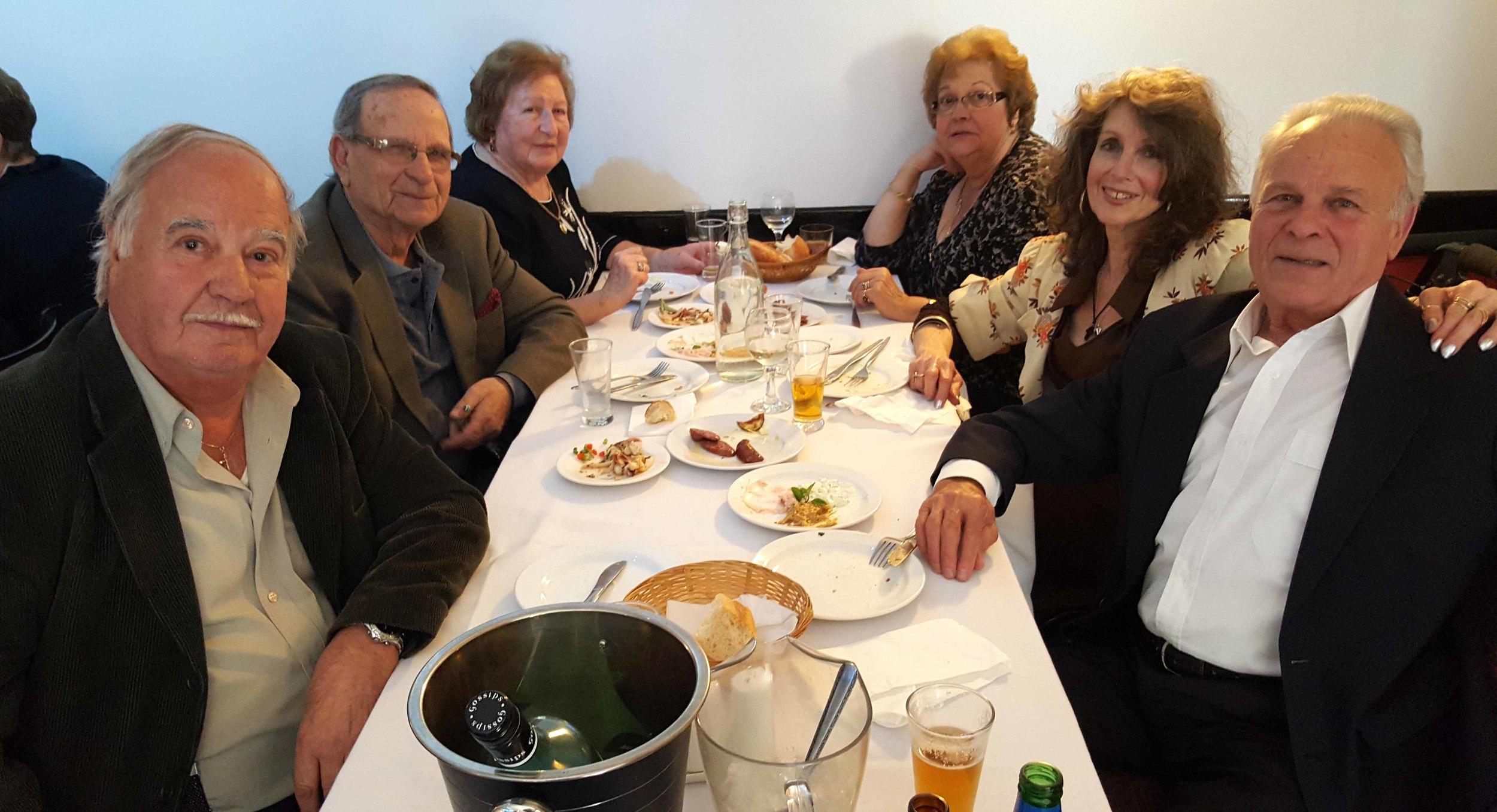 Nicholaou, Kakandonis and Karaminas Families