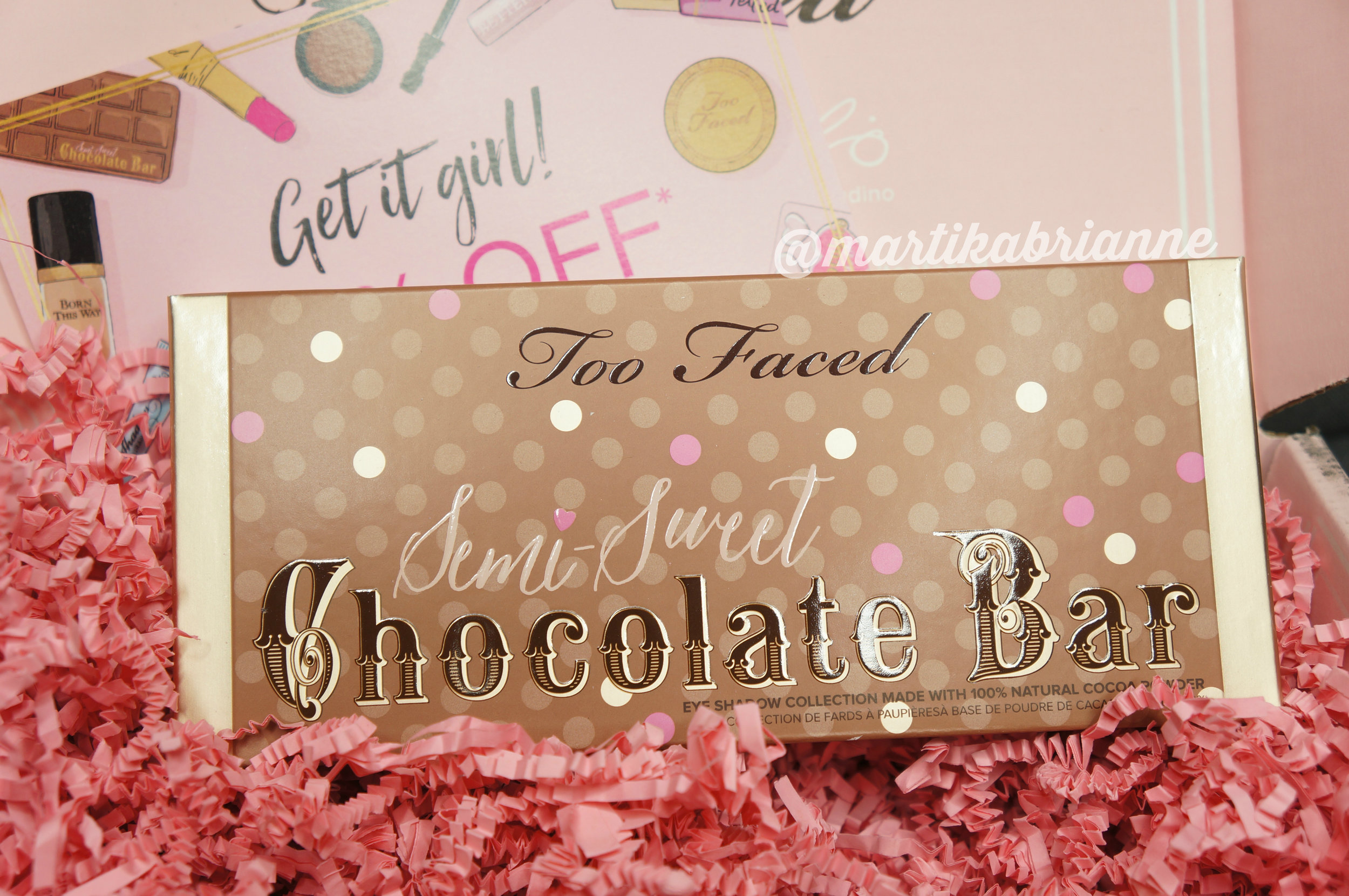 Too Faced  -  Semi-Sweet Chocolate Bar Eye Shadow