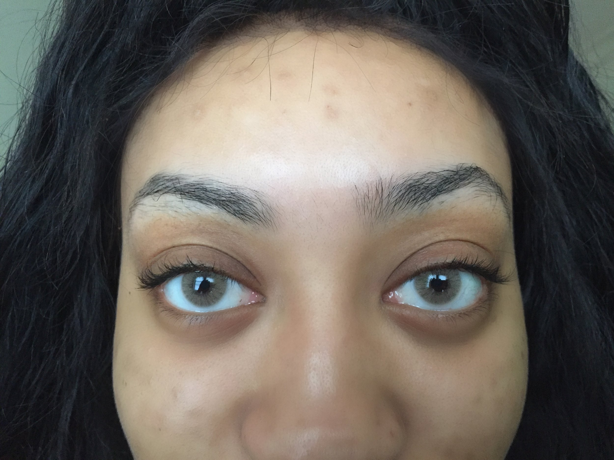 Before - Day before Microblading Procedure!