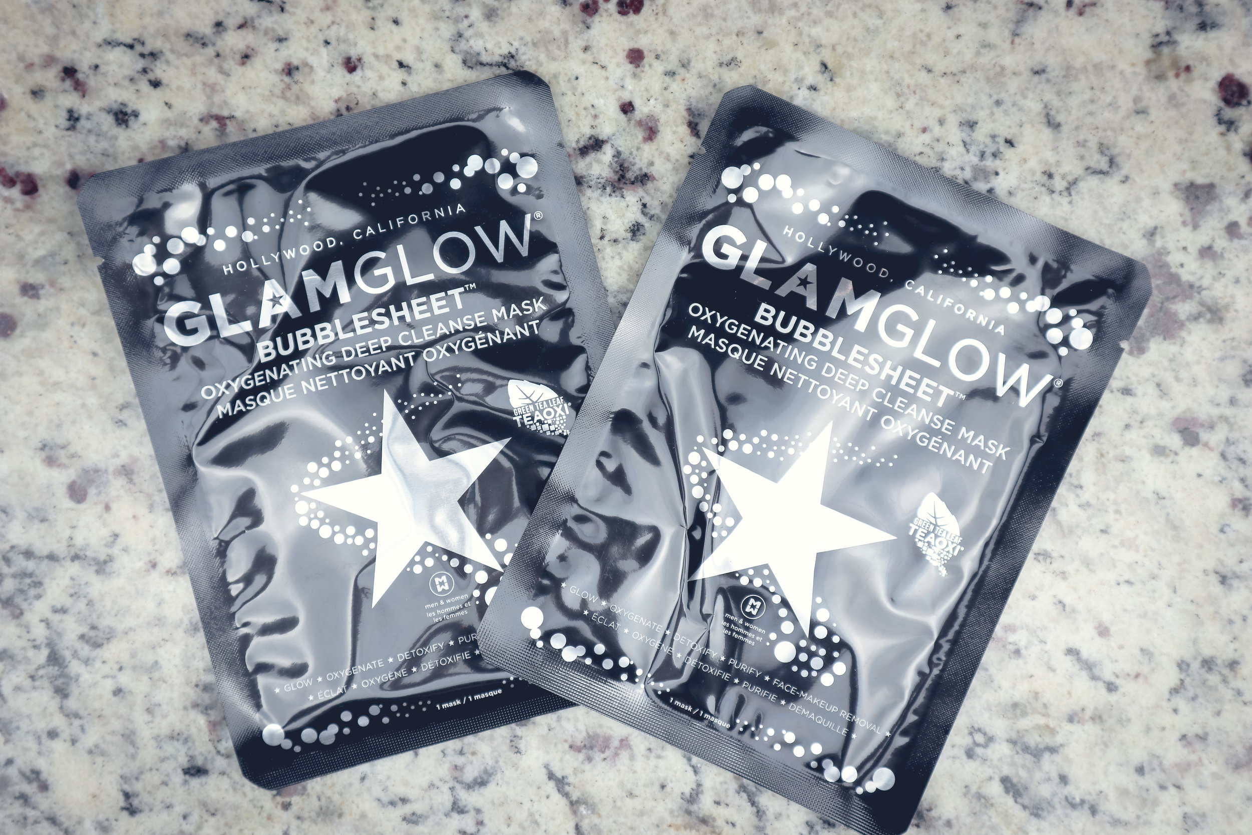GLAMGLOW BUBBLESHEET OXYGENATING DEEP CLEANSE MASK ($19) - You're Invited to the Bubble Party! Get 3 BUBBLESHEET™ Oxygenating Deep Cleanse Masks in One Set, Only $19 ($27 Value)!
