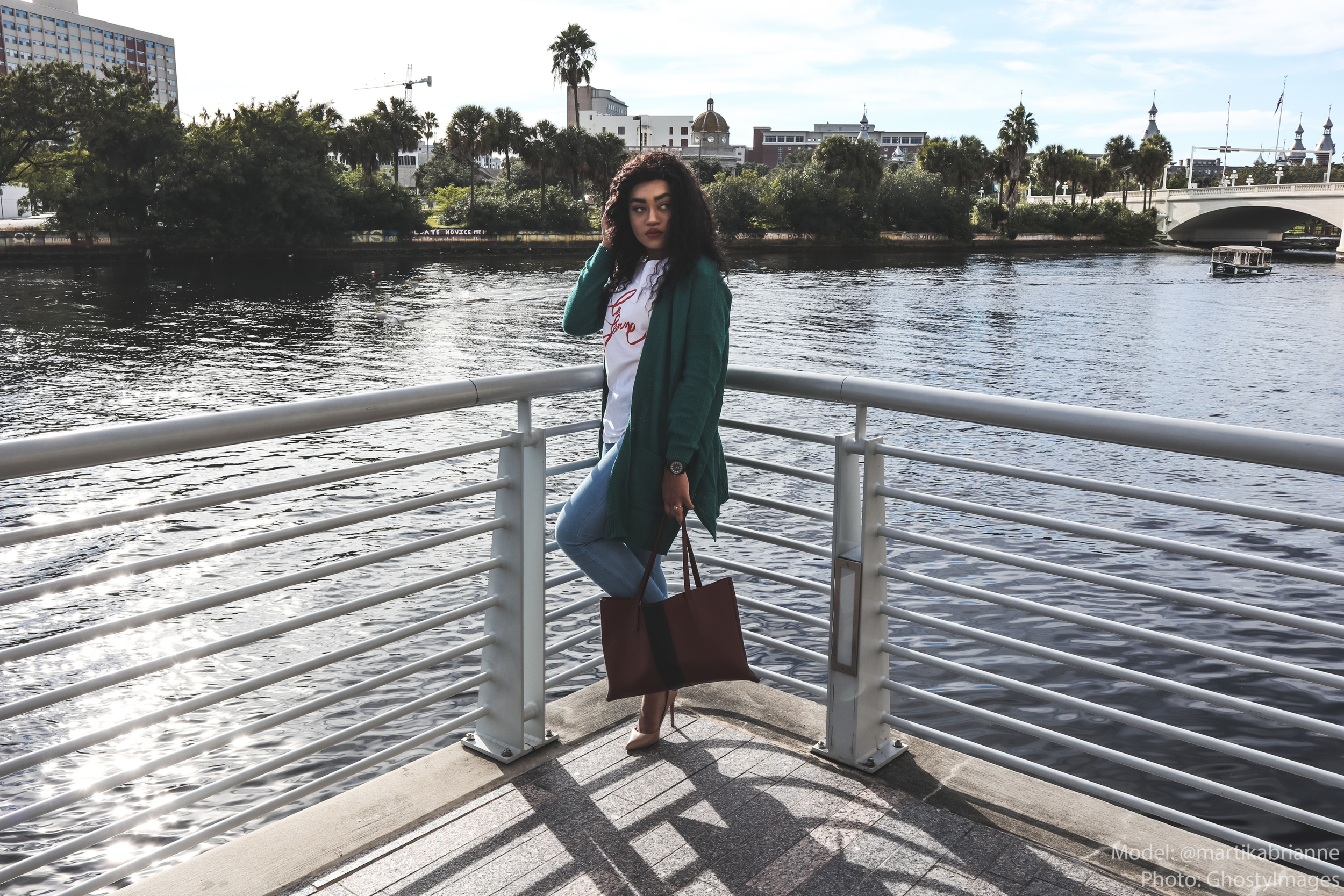 Archy Cardigan - Who doesn't love a good cardigan? Spice up any look with this Must-Have essential! Available in various colors. Color: Teal GreenPaired with my Fashion Nova Jeans, Vince Camuto Luck Tote, Steve Madden Nude Heels, & Treehut Co. Ebony Theo Blue Watch.Photography: George Jones