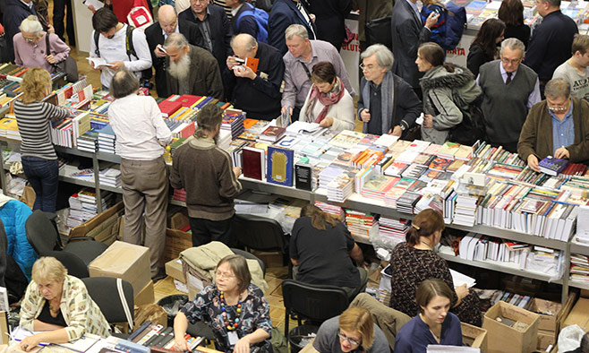 Unlike other book fairs around the world, the Non-Fiction Fair is primarily for readers, not store buyers or publishers.                                                                                                              Sergei Golovko / MT