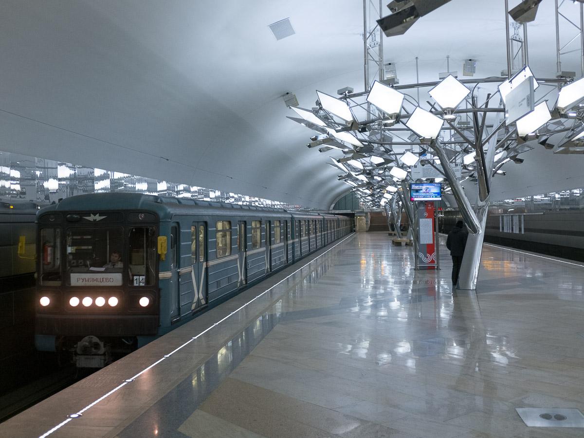 Новая станция московского метрополитена
