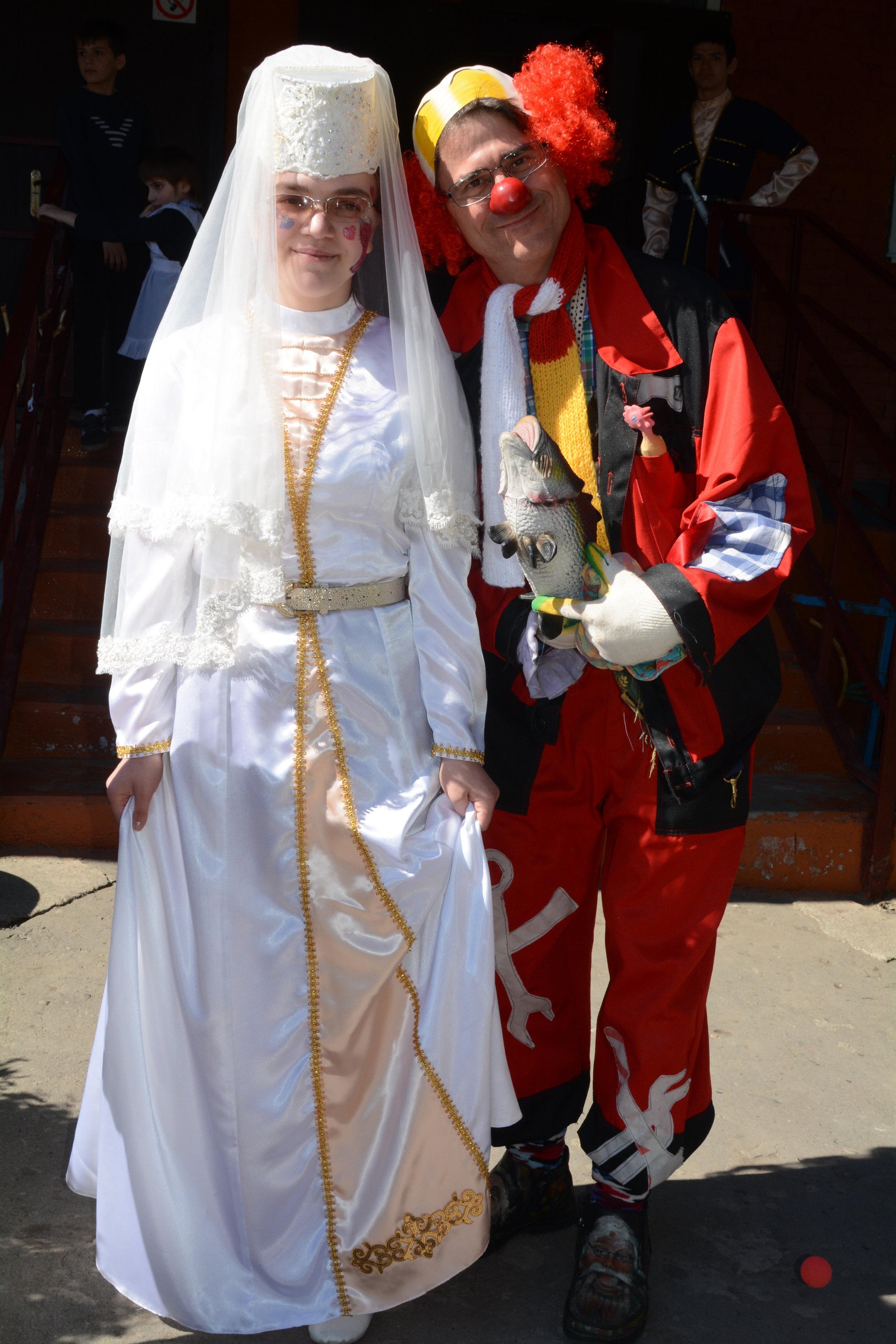 Zhorik contemplates an Ossetian bride