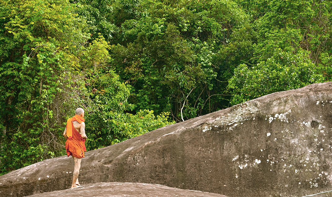 Tattoo Monk, Cambodia 2011