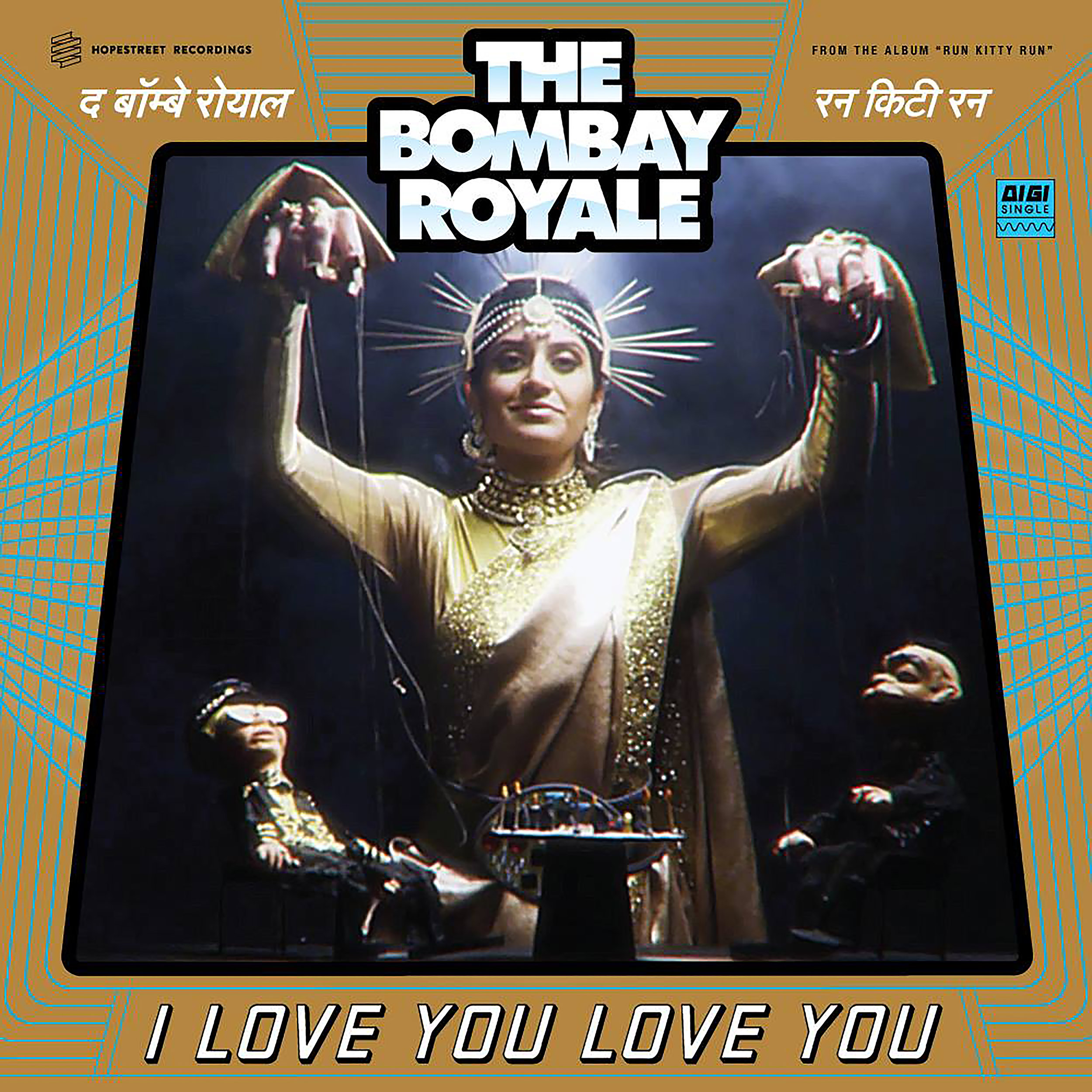 "Watch!   The Bombay Royal - ""I Love you Love You"" Music Video"