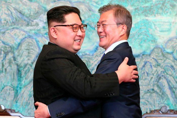 Credit: Korea Summit Press Pool, 2018