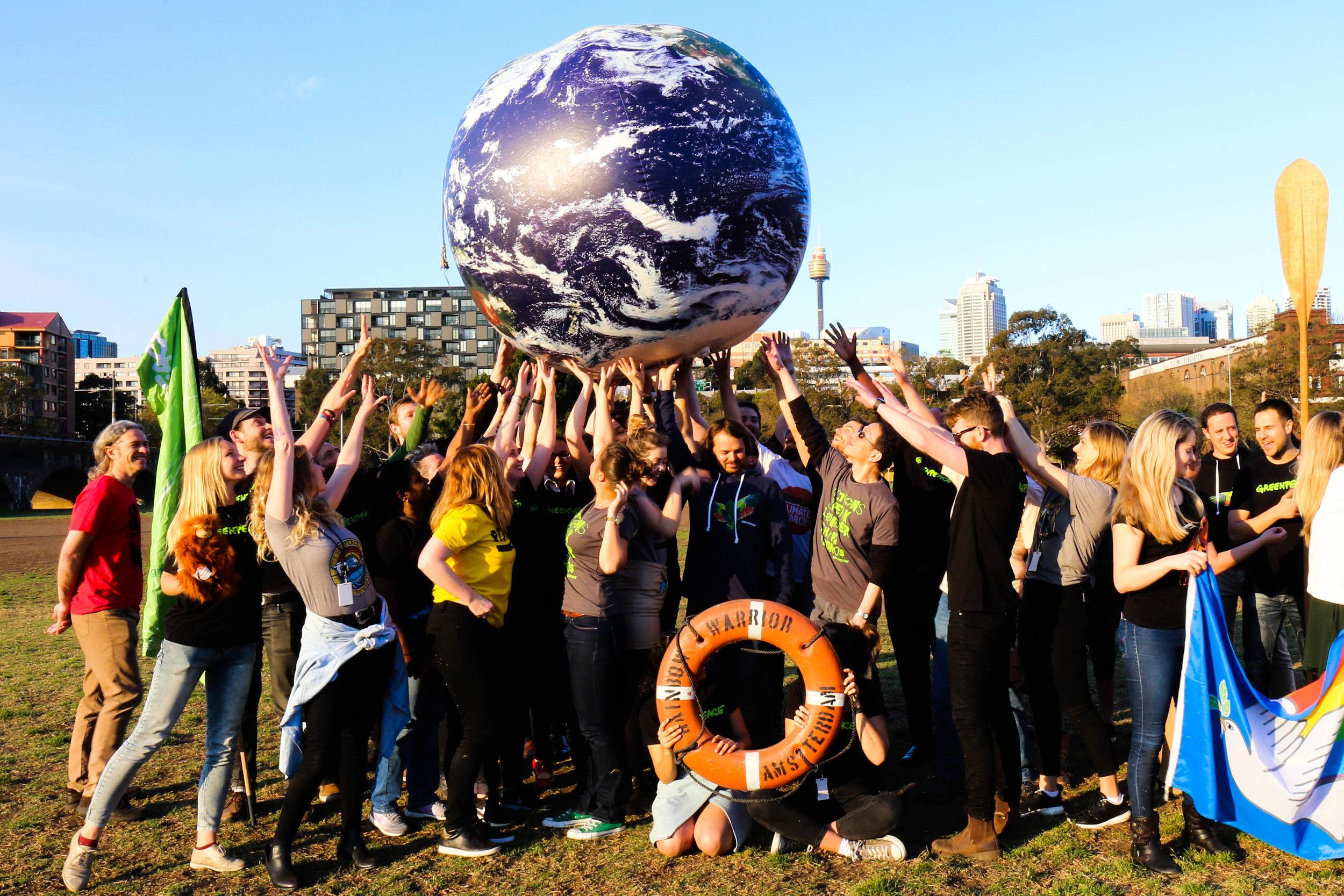 Credit:  Greenpeace Australia, 2018