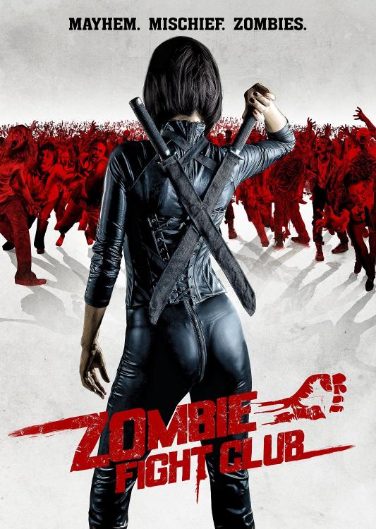 zombie fight club dvd