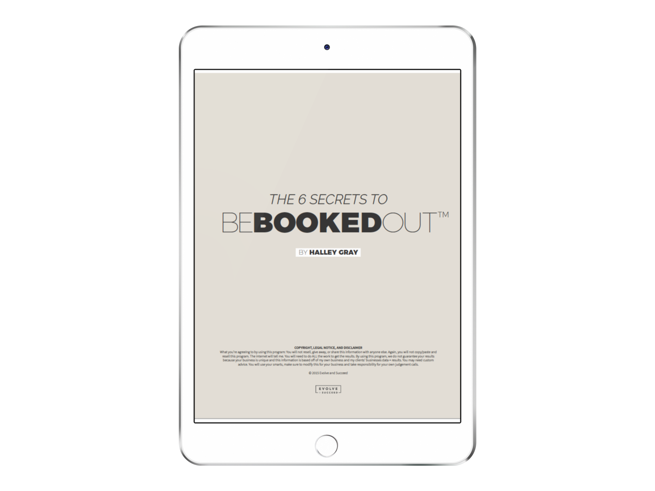 The 6 Secrets To Be Booked Out - Ready to be booked out 6-12 months in advance with high-paying, drama free, quality clients? Download your FREE Guide on The 6 Secrets to Be Booked Out.