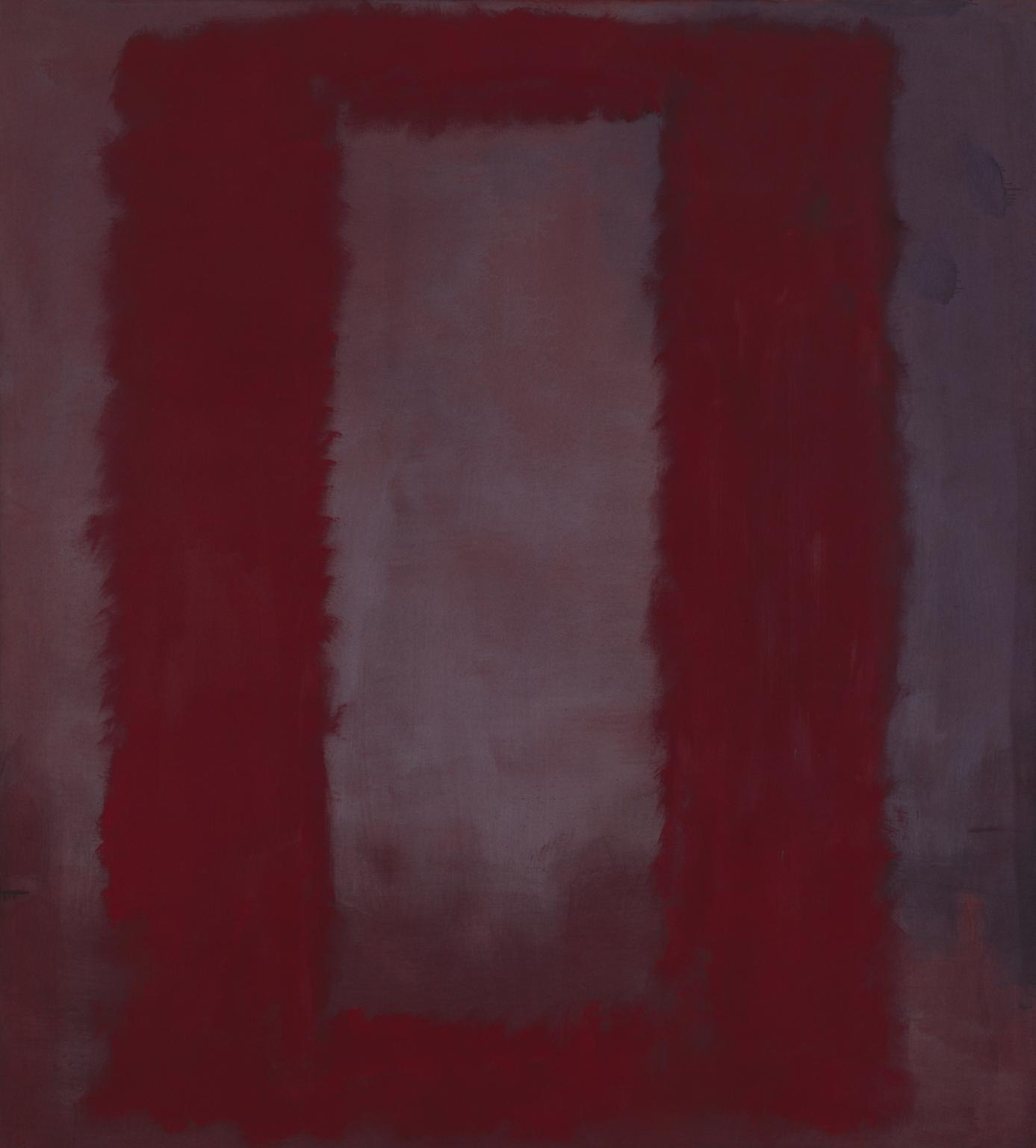 Mark Rothko, Red on Maroon, 1959