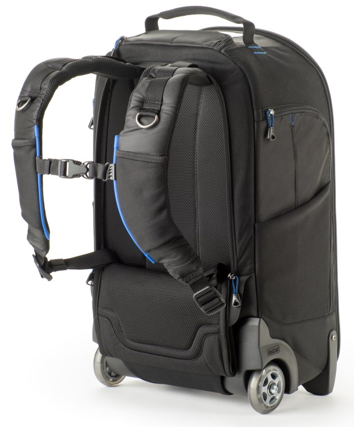 - Now with the StreetWalker V2.0 series, you get new features such as increased depth for modern DSLR systems, and dedicated pockets for both tablets and smartphones. The new rolling backpack's harness system allows you to roll the bag or carry it on your back in comfort.