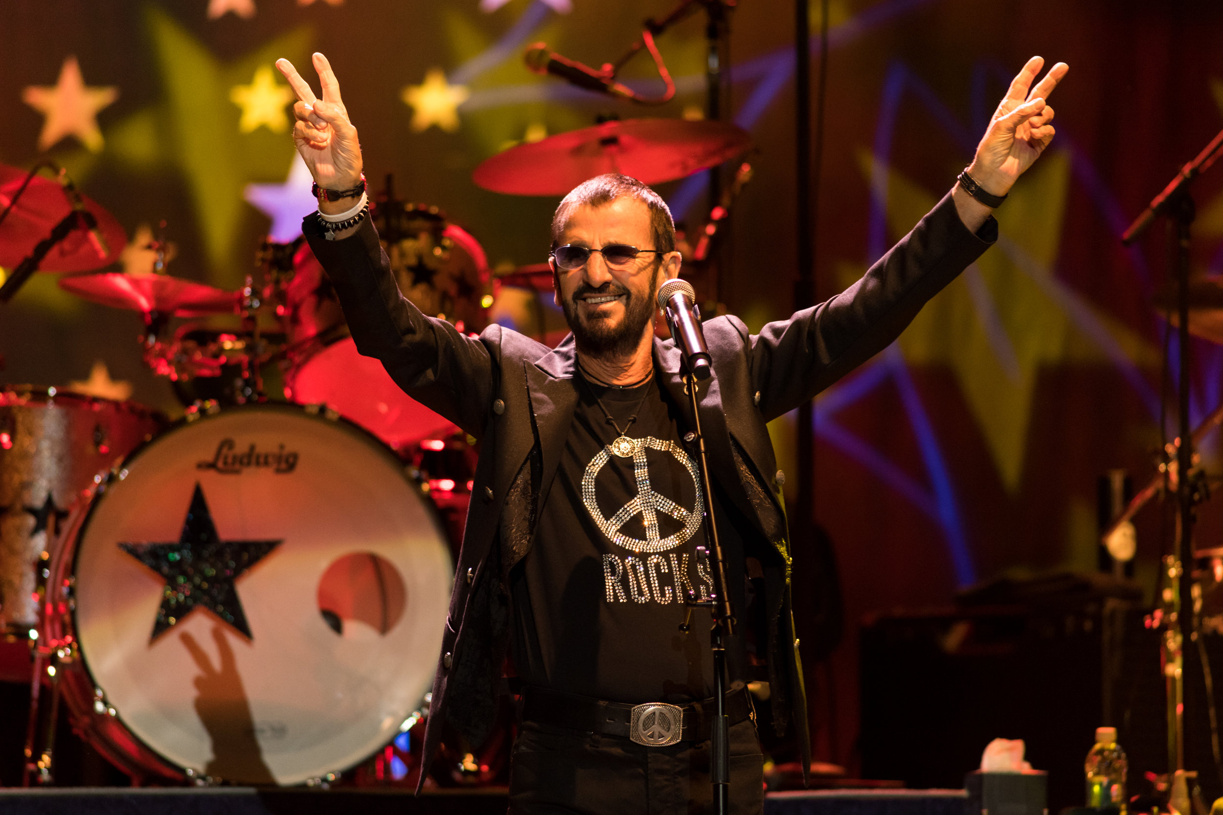 Ringo Starr and His All-Starr Band performs Sunday, November 12th 2017 at the Ted Constant Convocation Center.