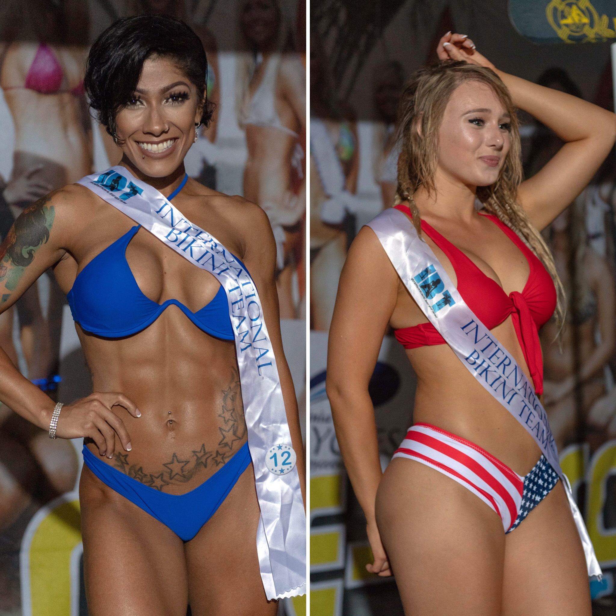 Preliminary Round 5 of the 2018 @coastaledge Miss ECSC Pageant held at @bluepetesrestaurant Presented by @pacificobeer DoctorStonersVodka ALT 105.3 Chesapeake Bay Distillery iHeartRadio Virginia Beach Nightlife International Bikini TeamThe top 4 advanced to the semi-finals in August at the 56th Annual Coastal Edge @ecscsurf Presented by Vans and Fueled by @monsterenergy