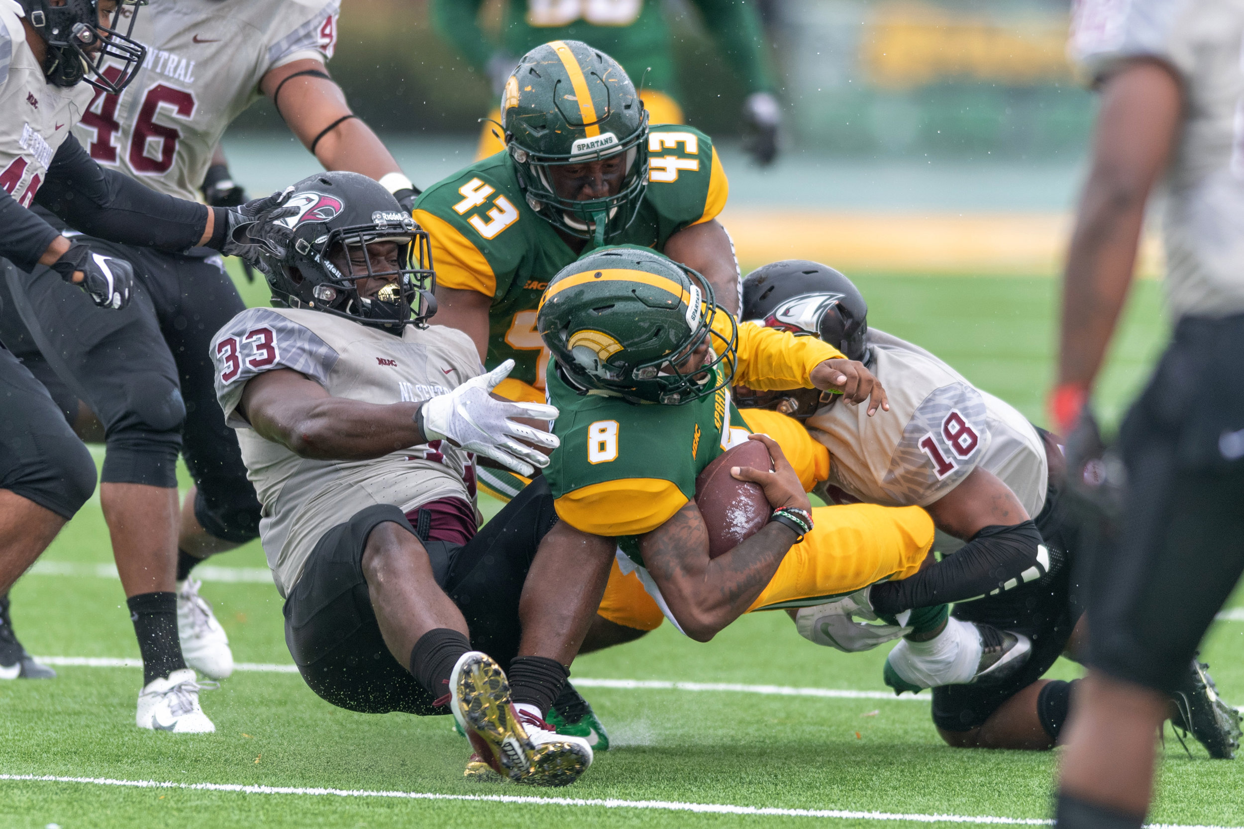 Football North Carolina Central vs Norfolk State