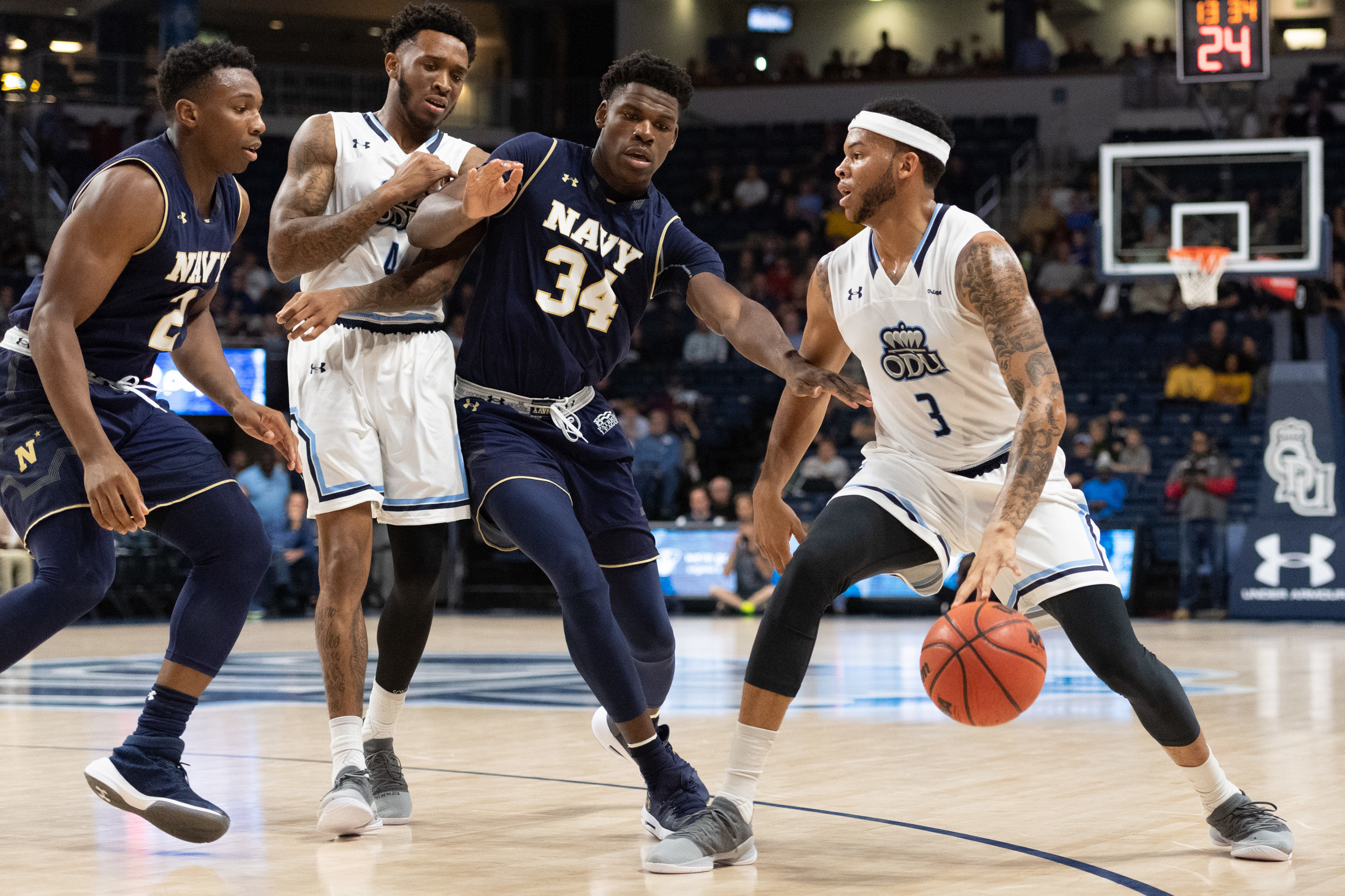 Men's Basketball: Navy vs Old Dominion