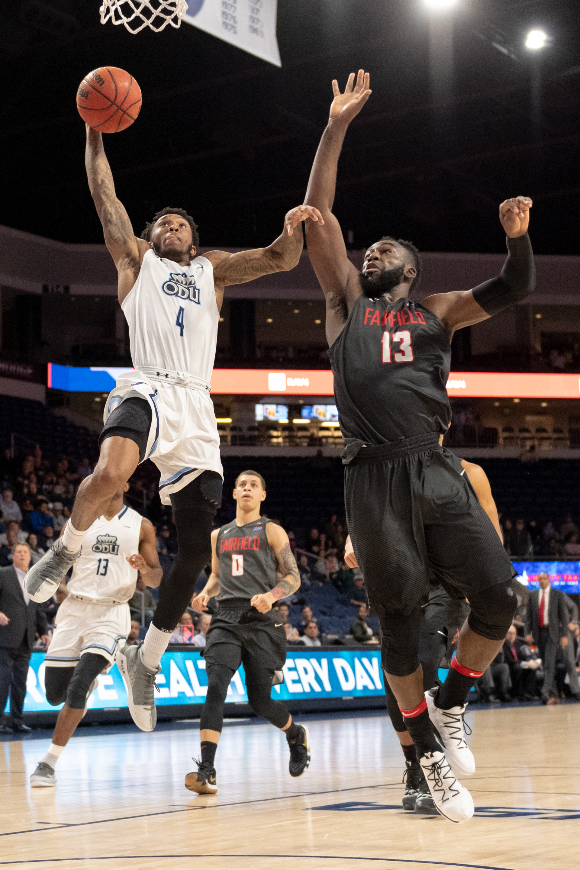 Basketball: Fairfield vs Old Dominion