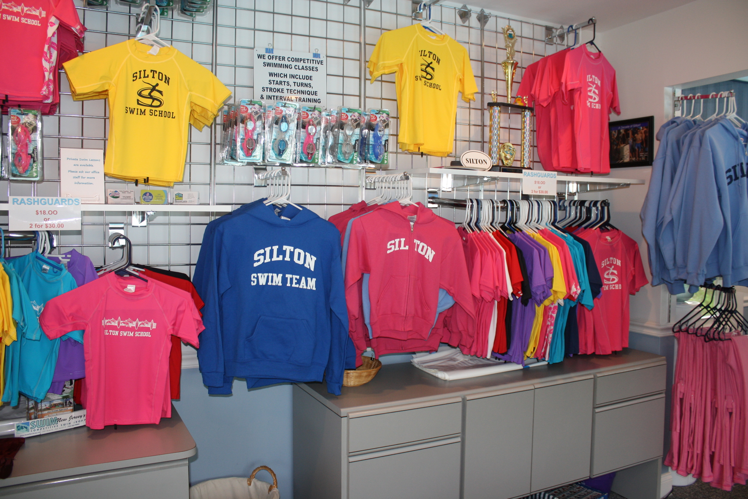 Please check back in the spring as we will have photos and prices of each item for sale in our pool office.