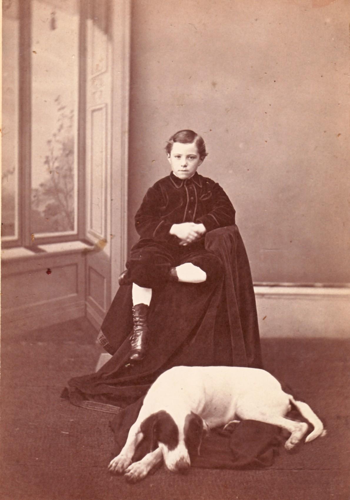 Howard Tuttle, age 6