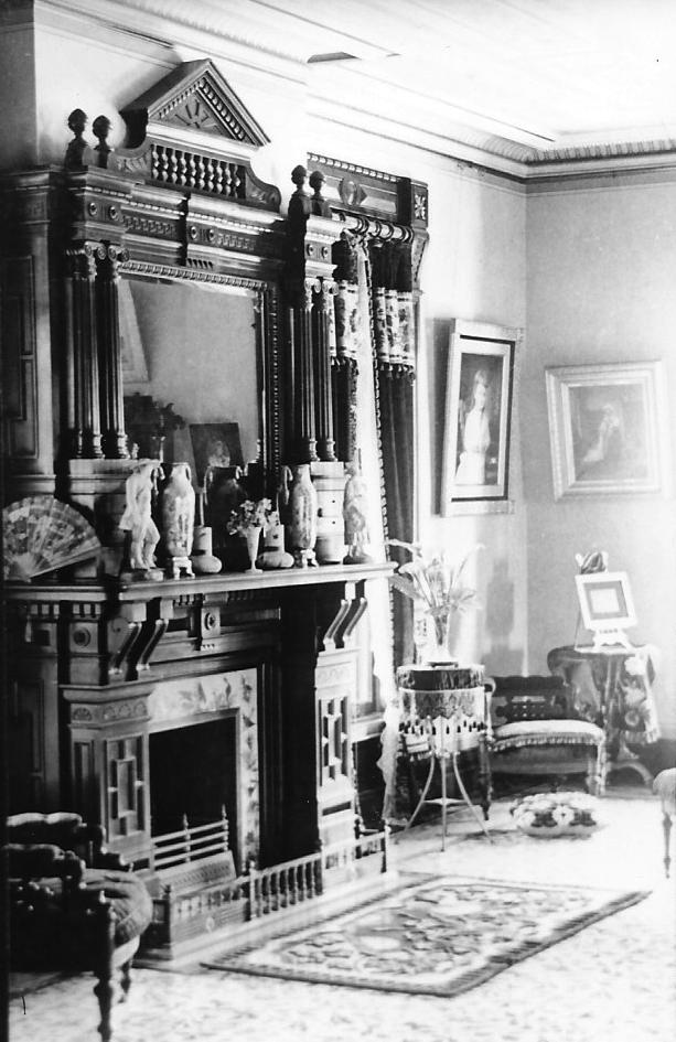 The parlor, c. 1883