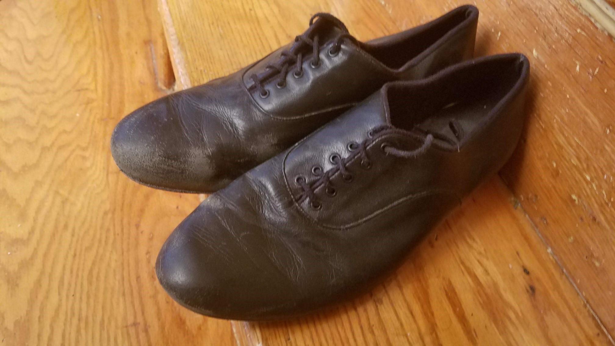 Performance Dancerwear, Black Leather, US Size 13 / Euro 47, Used, $25