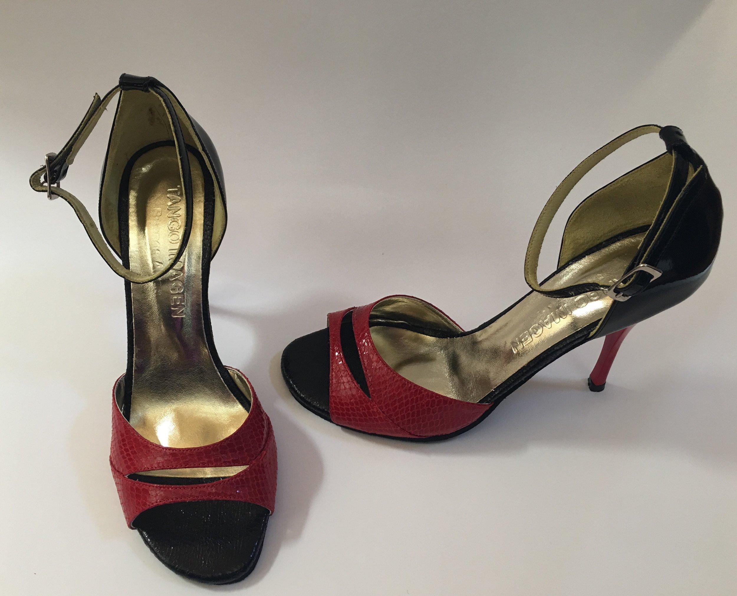 """Imogen Tango Shoes, Size 37 (US 7), NEW, 3.75"""" heel - $100"""