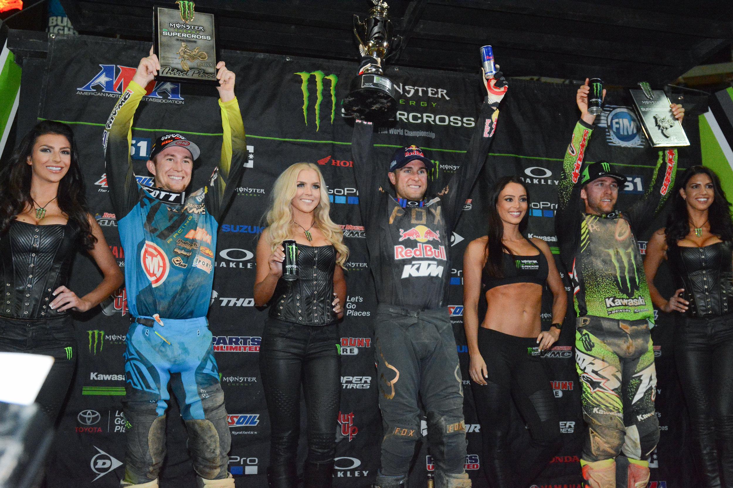 Ryan Dungey Monster Engergy Supercross Atlanta