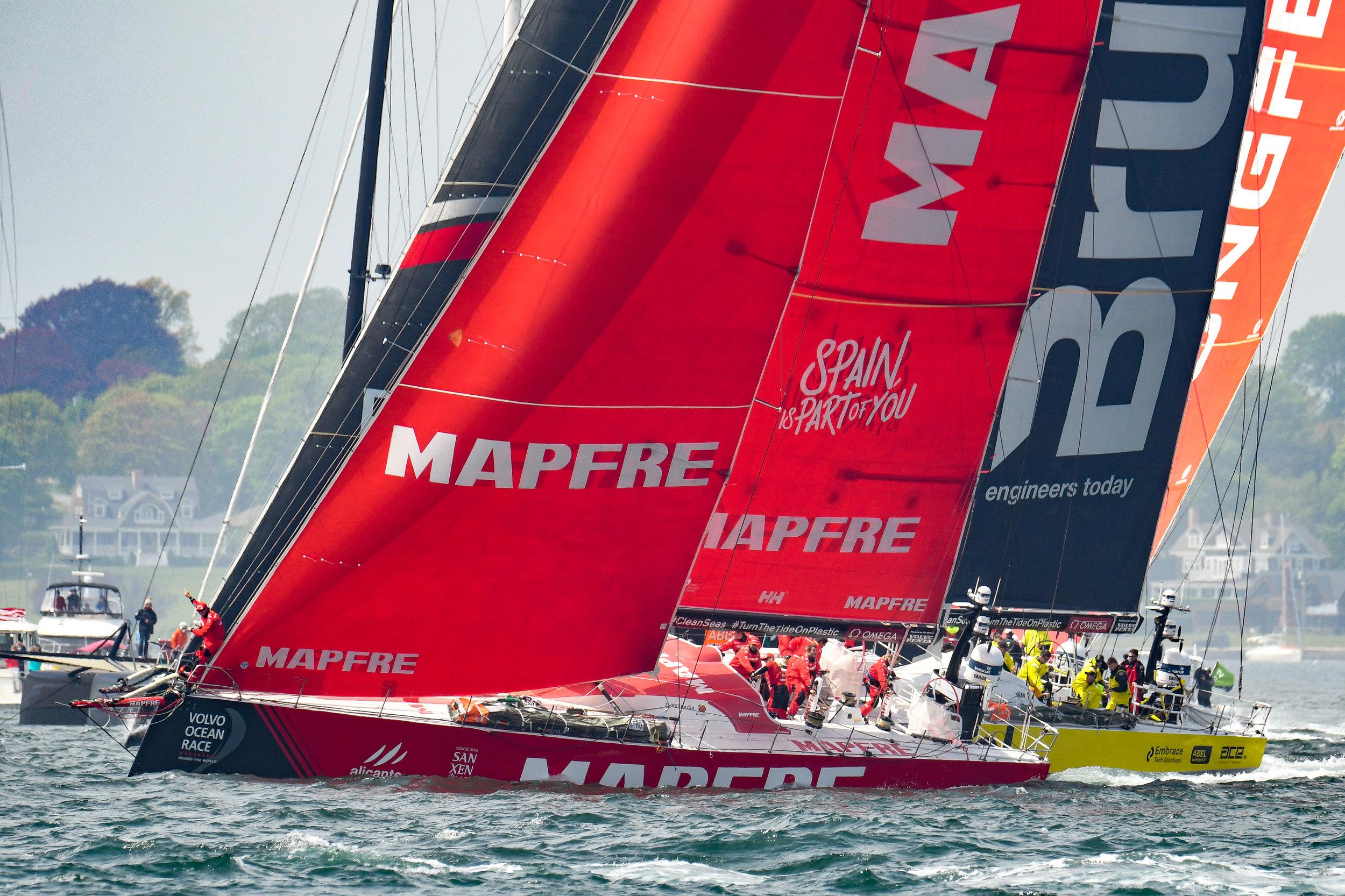 Volvo Ocean Race - Team Mapfre