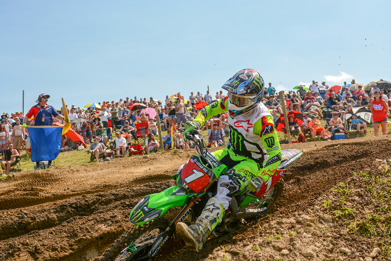 Eli Tomac at HighPoint Raceway
