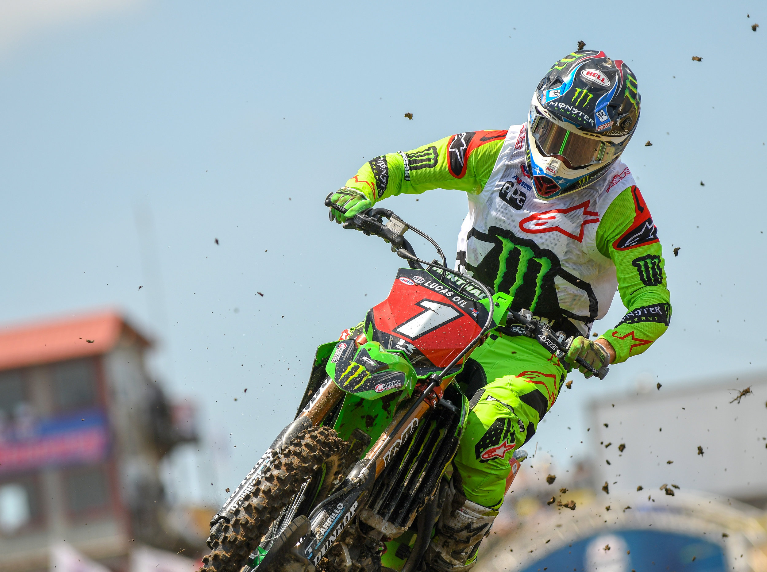 Eli Tomac of Monster Energy Kawasaki