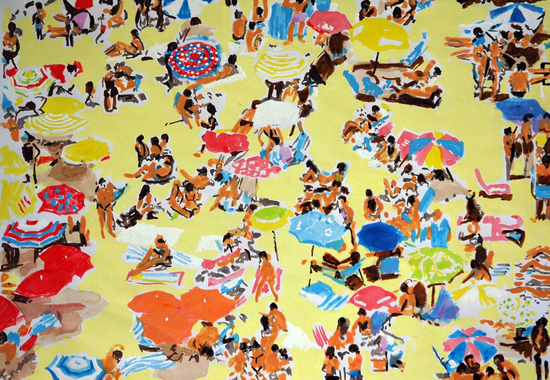 Beach umbrellas 4