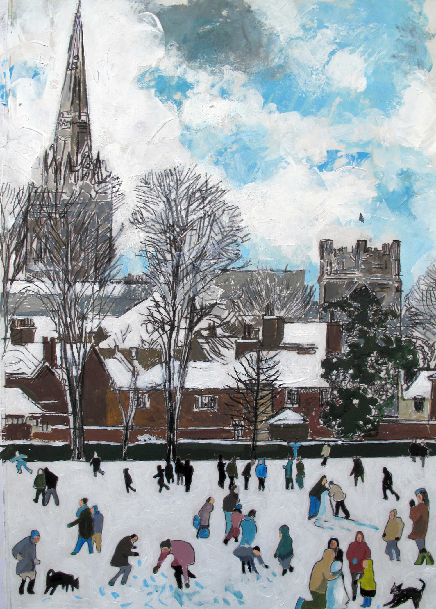 Frozen Chichester