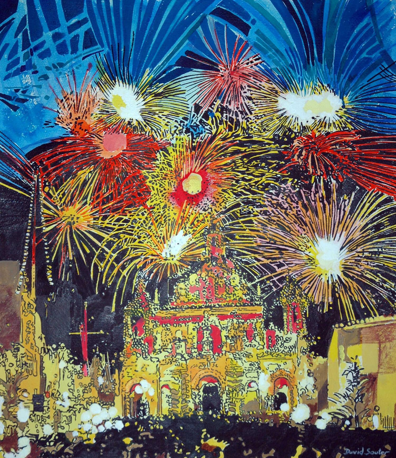 Fireworks Gozo