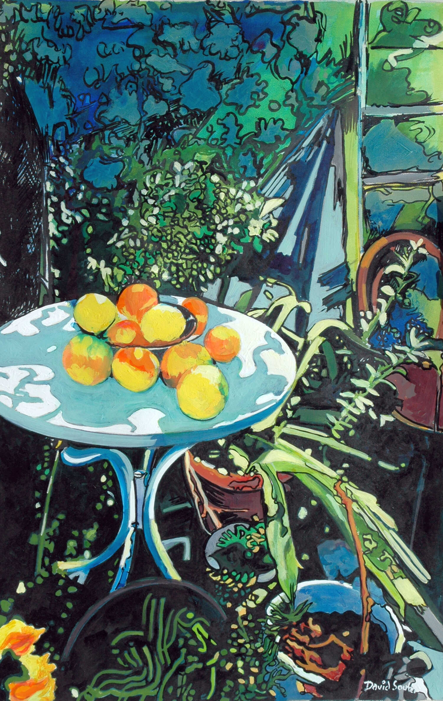 Oranges in Kritsa