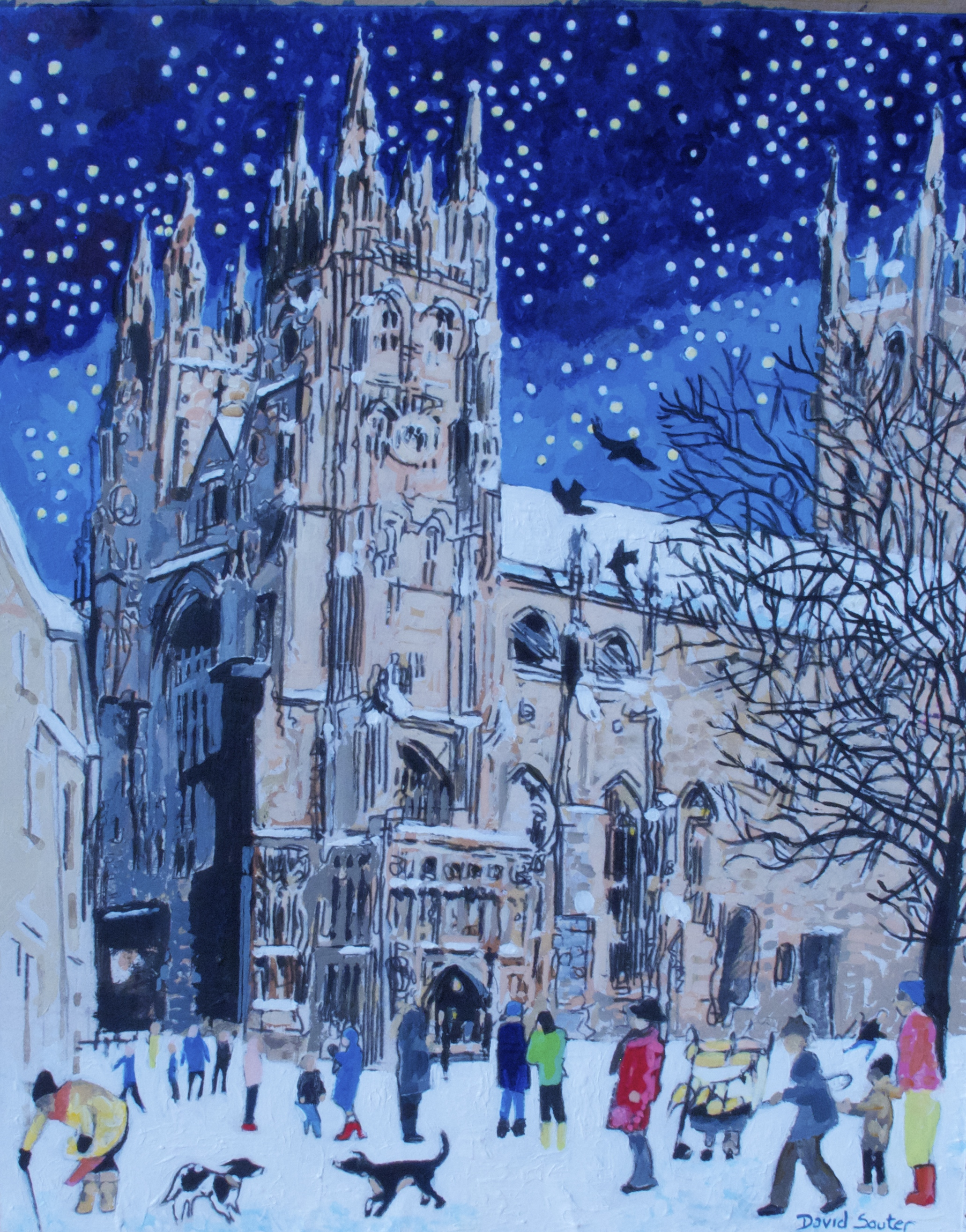 Starry night Canterbury