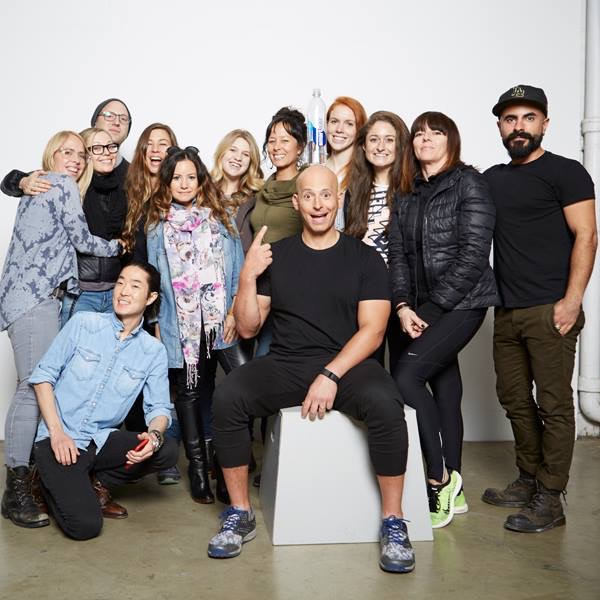 Meet the crew! Such an amazing team. Harley even made us smoothies, and shared some of his recipes! Flew out to another shoot in NYC right after.
