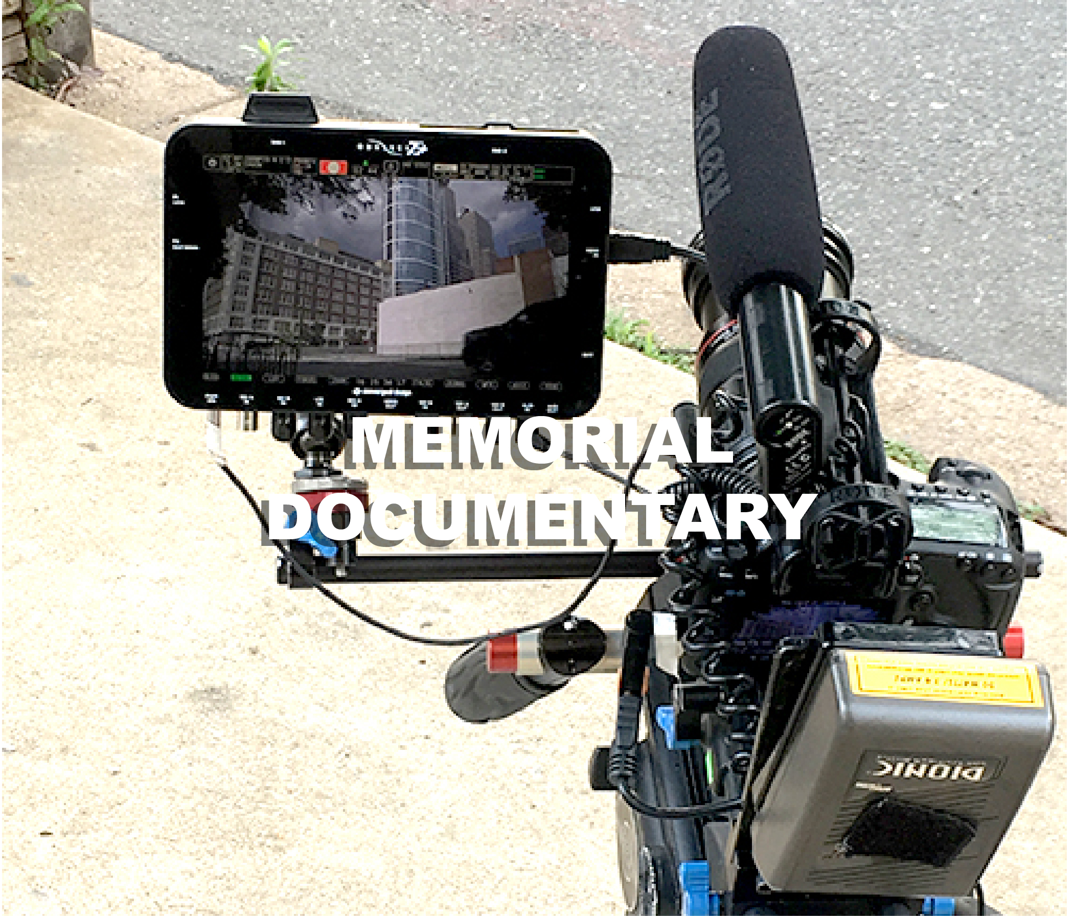 follow a film documentary on the june 5th memorial park.