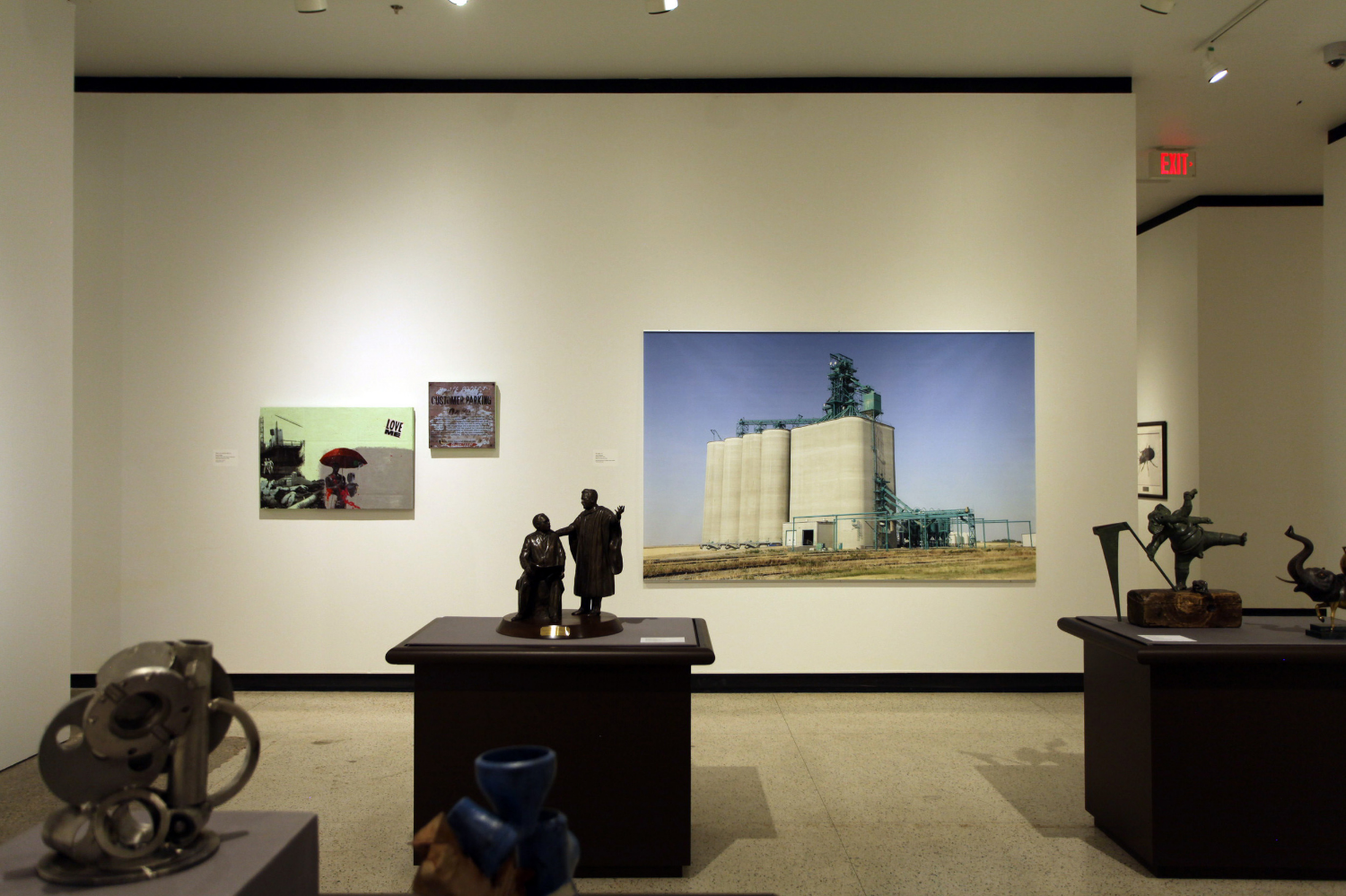 photograph of work in the gallery (University of Alberta Art Collection | Museums and Collections Services )