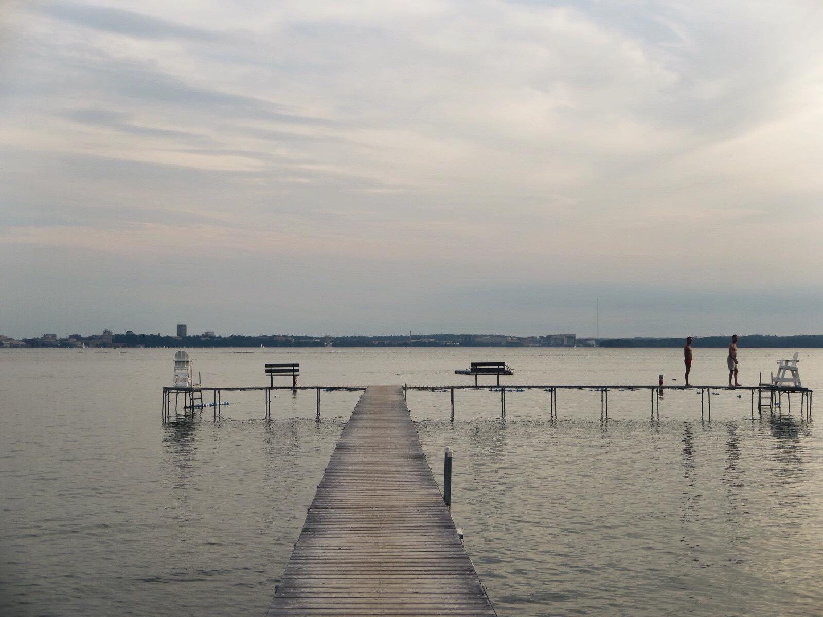 Lake mendota, Madison, wisconsin. Photo: @tobiassupplyco