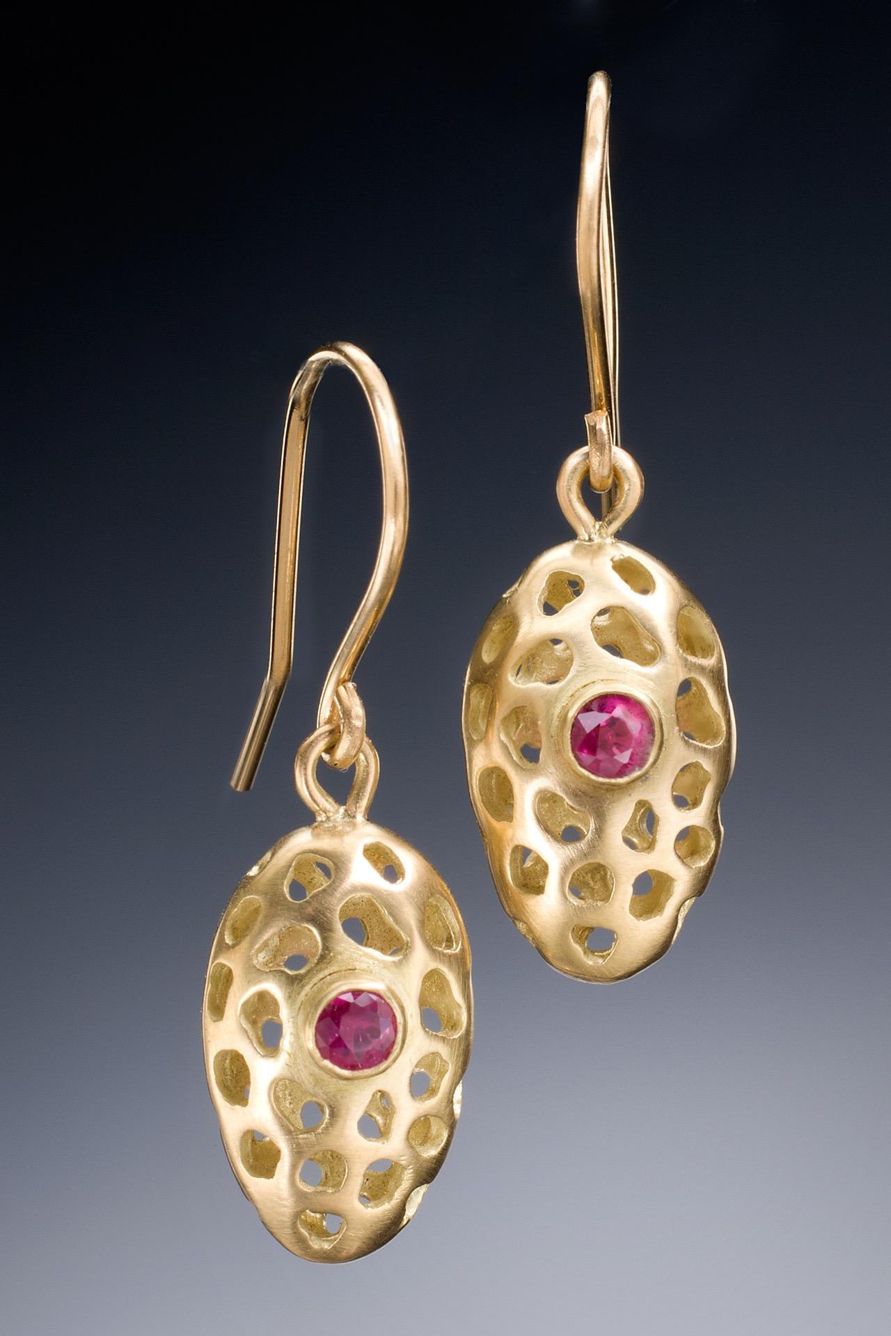 Golden Egg Earrings