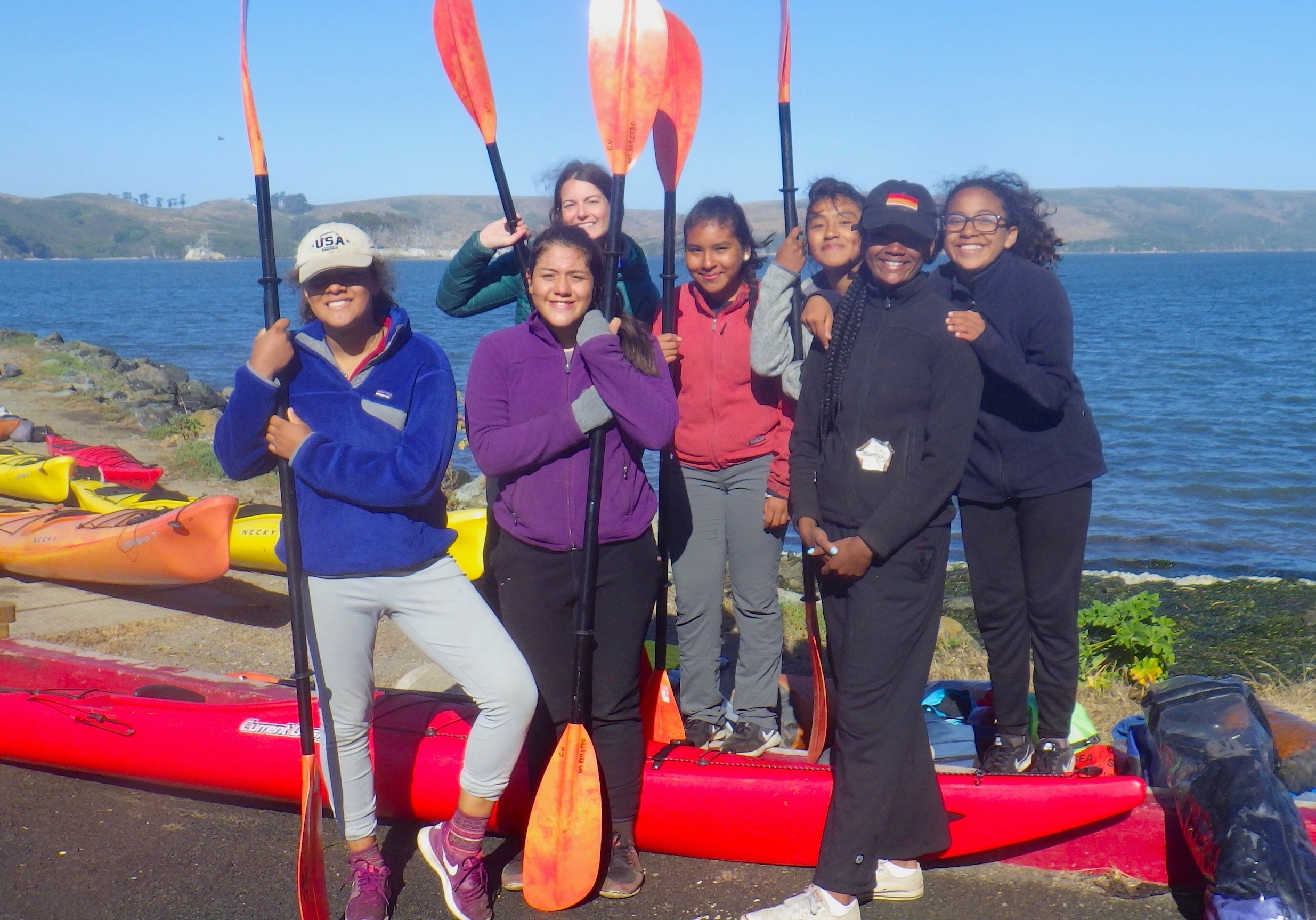 PROJECT COURAGE   A 13-day backcountry adventure for girls and gender expansive youth entering 7th or 8th grade.  Course Dates: July 7-19, 2019